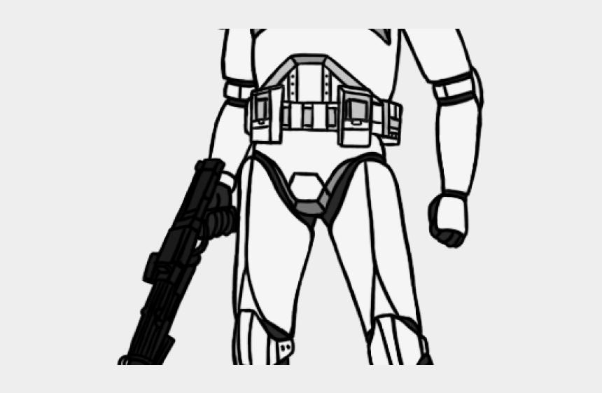 star wars clip art, Cartoons - Star Wars Clipart Clone Trooper - Clone Trooper Armor Drawing