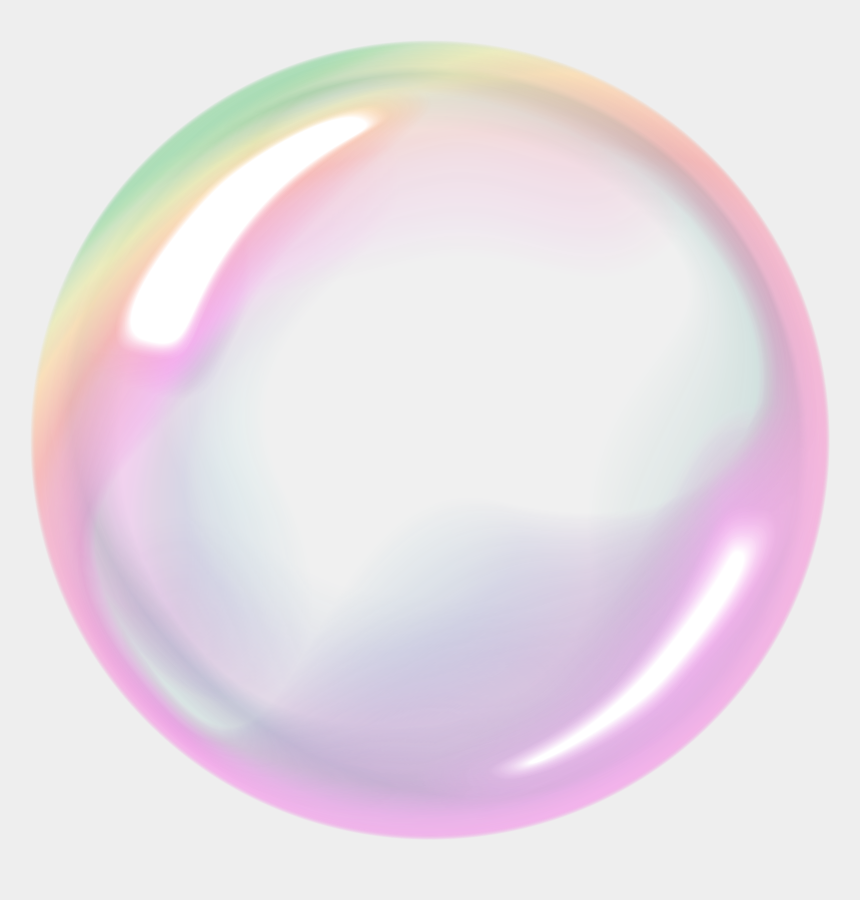 Bubble clear. Bubbles clipart rainbow transparent