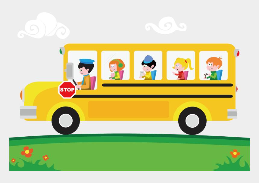 School Bus Cartoon Clip Art School Bus Animated Png Cliparts