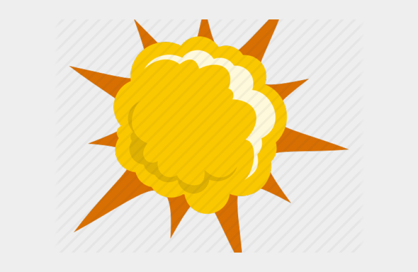 explosion clip art, Cartoons - Explosion Clip Art Png - Explosion Yellow Png