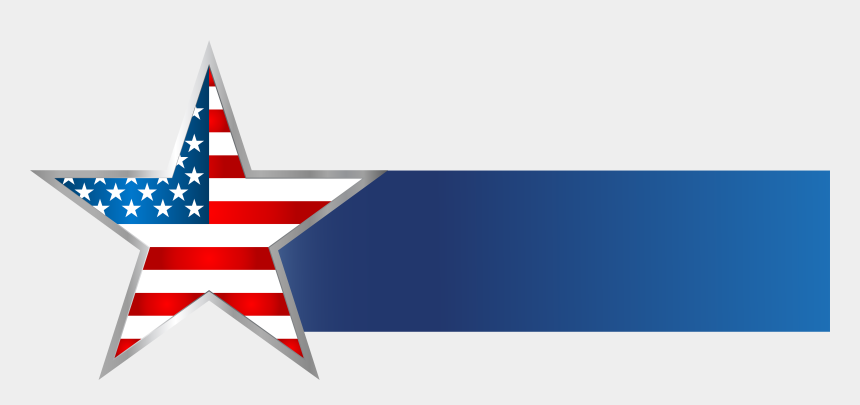 Usa Star Banner Png Clip Art Image - Usa Flag Banner Png, Cliparts & Cartoons - Jing.fm