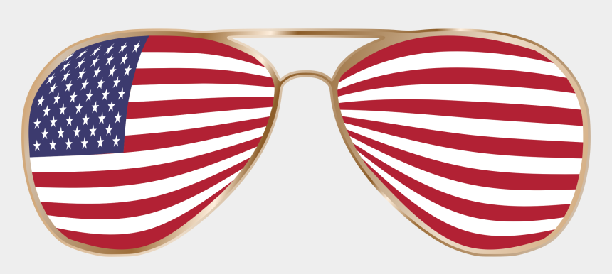 american flag clipart, Cartoons - Sunglass Svg American Flag - American Flag Glasses Png
