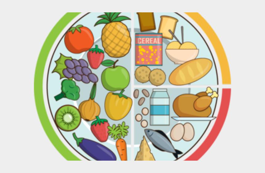 cartoon galery net: Cartoon Plate Of Food Clipart