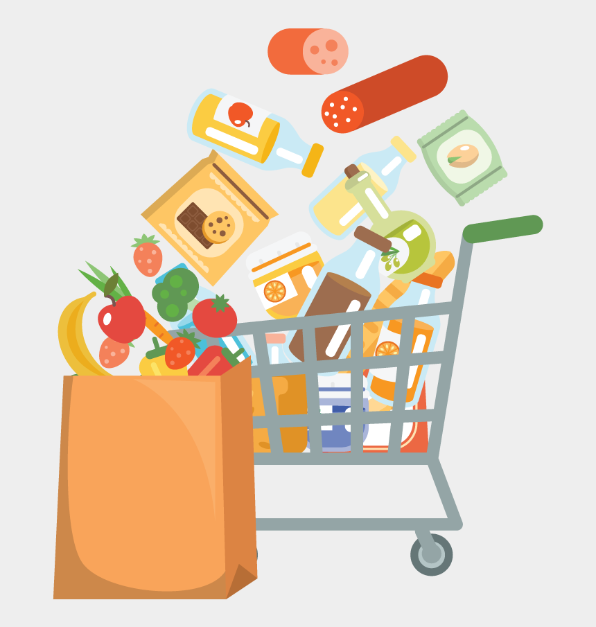 food clip art, Cartoons - Food Guidelines By Donating Our Most Needed Items - Non Perishable Food Items Clipart