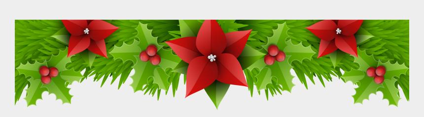 poinsettia clipart, Cartoons - Christmas Decorations Borders Romeo Landinez Co Ⓒ - Christmas Border Transparent