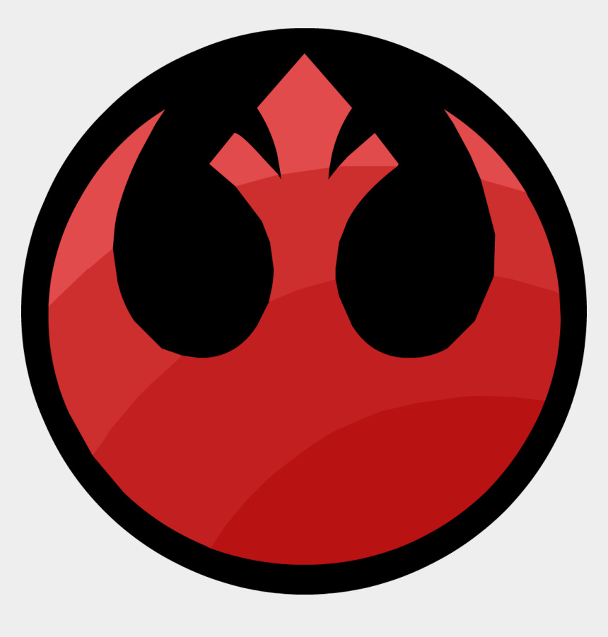 star wars clip art, Cartoons - Rogue One - Star Wars Rebel Logo Png