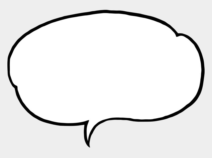 bubbles clip art, Cartoons - Bubble, Speech, Comment, Speech Bubble, Talk - Speech Bubble White Outline Png