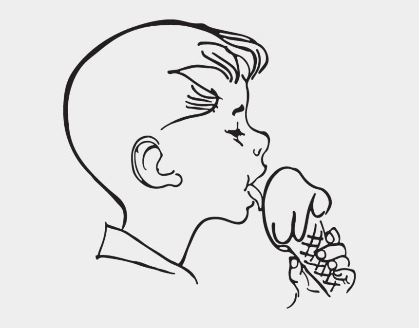 ice cream clip art, Cartoons - Ra Boy Licks Icecream Clip Art Ⓒ - Licking Ice Cream Clipart