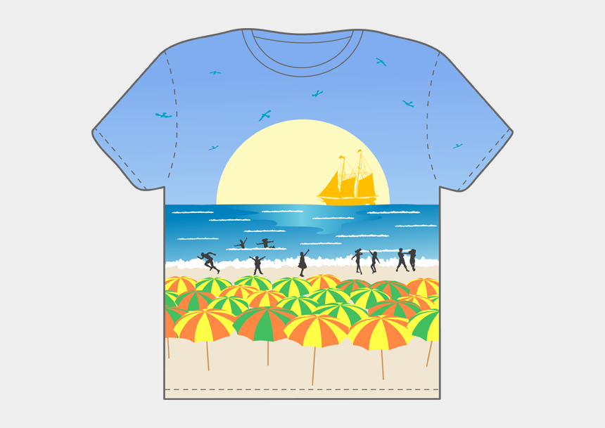 t-shirt clip art, Cartoons - Web Development Pinterest Summer - Beach Party Themed T Shirts