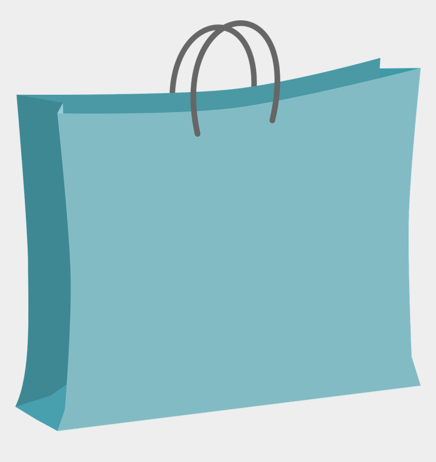 shopping clip art, Cartoons - Blue Shopping Bag Clip Art Png - Clip Art Shopping Bag