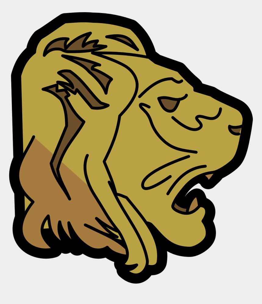 lion clip art, Cartoons - Lion Clip Art Download - Animated Lion Face