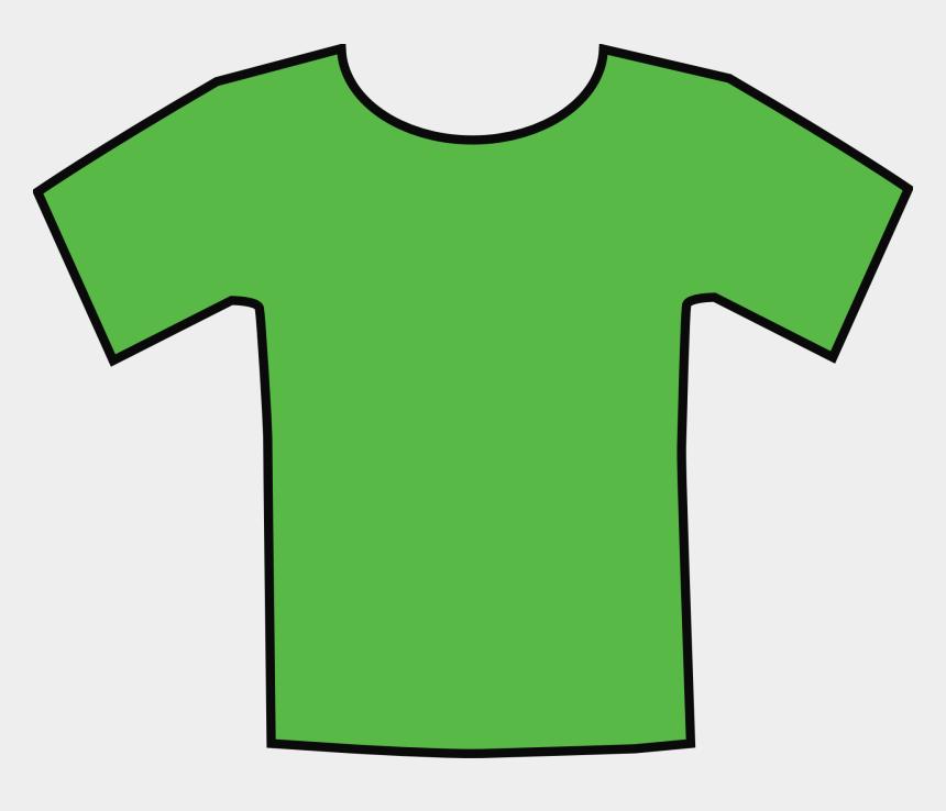 t-shirt clip art, Cartoons - Tshirt Clipart Green Shirt - T Shirt Grün Clipart
