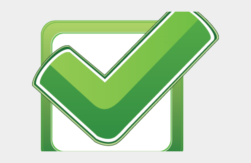 check mark clipart, Cartoons - Green Tick Clipart Quality - Green Check Box