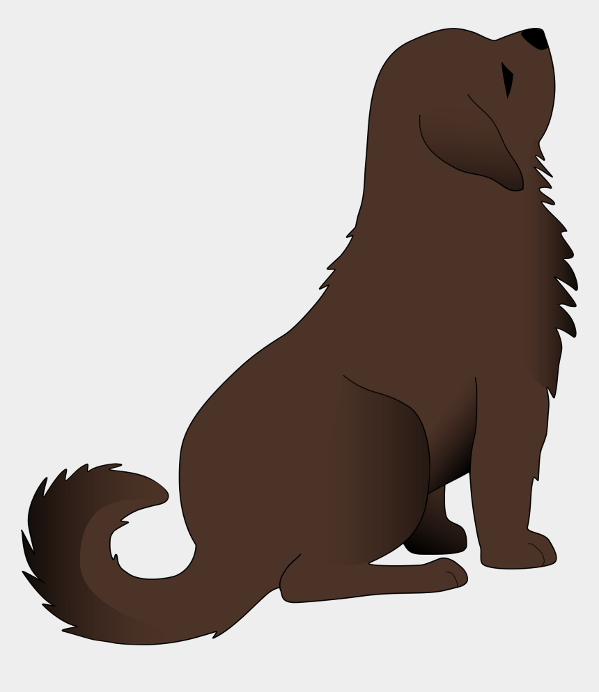 pet clipart, Cartoons - Free Sitting Brown Dog Clip - Dog Sitting Clipart Png