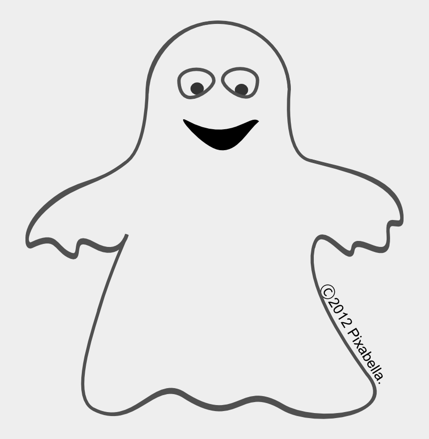 cute halloween clip art, Cartoons - Clipart Info - Ghost Clipart Black And White
