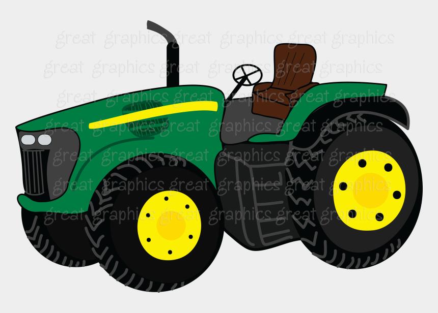 tractor clip art, Cartoons - John Deere Tractors Girls And Black On Clip Art - Animated John Deere Tractor