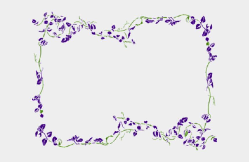 vines clipart, Cartoons - Lavender Clipart Vine - Green And Purple Vines
