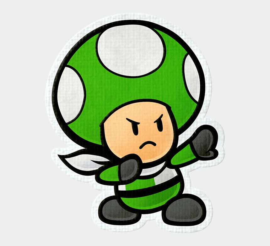 toads clipart, Cartoons - Paper Mario Color Splash Review Polygon Toads Ⓒ - Paper Mario Color Splash Rescue Squad