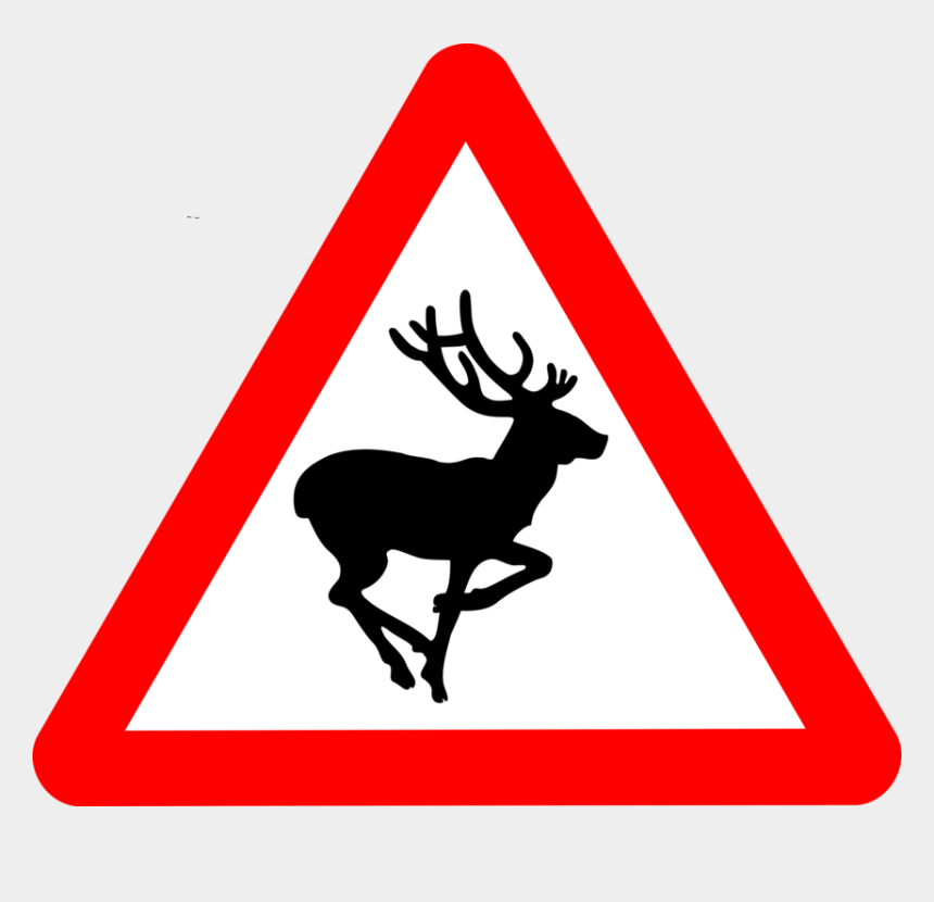 winding roads clipart, Cartoons - Country Road Sign Warning Of Deer - Old People Crossing Road Sign