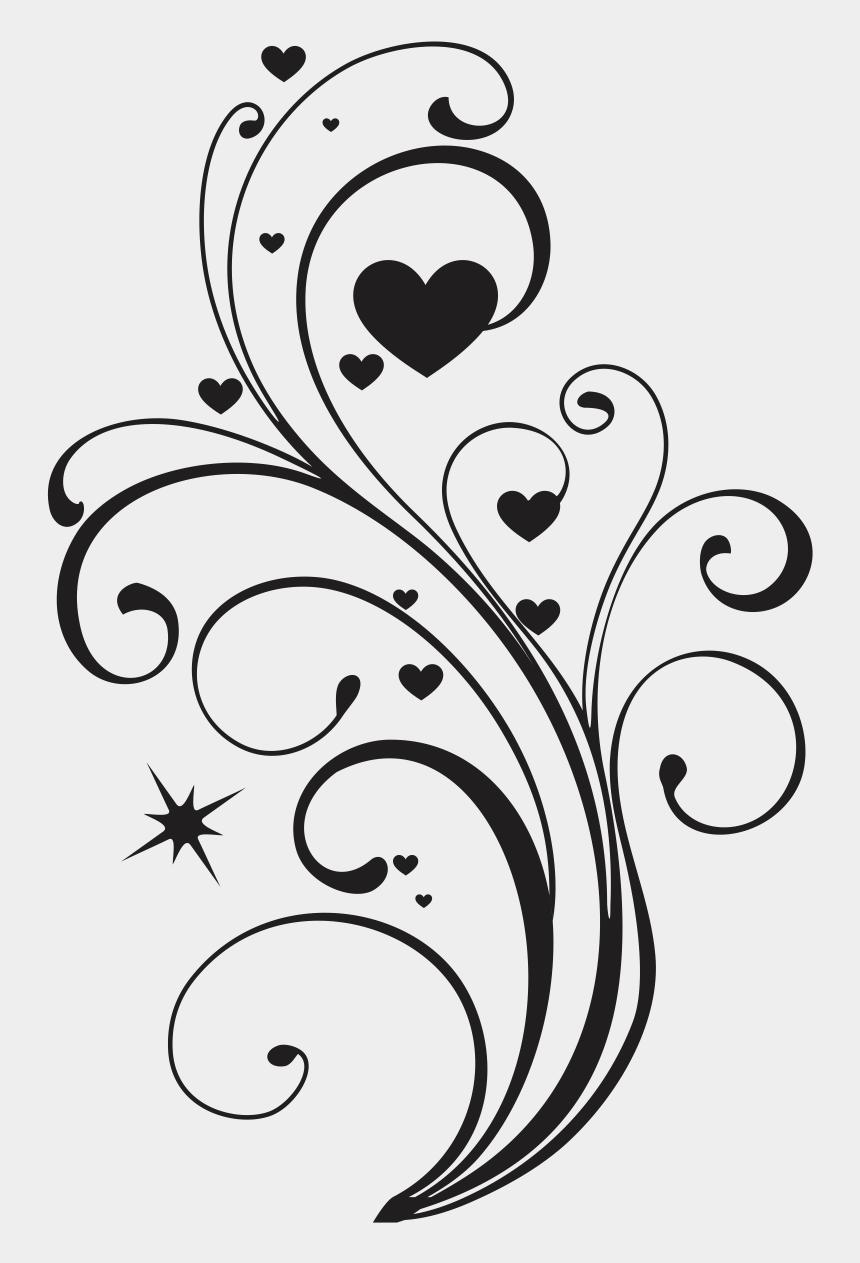elegant heart clipart, Cartoons - #swirls #swirl #decorations #decoration #decor #elegant - Heart Design Drawing