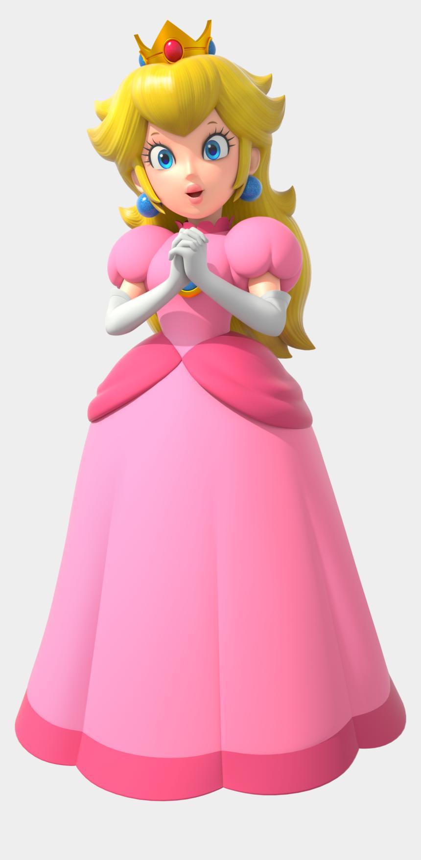princess peach clipart, Cartoons - Mario Bross Png - Princess Peach