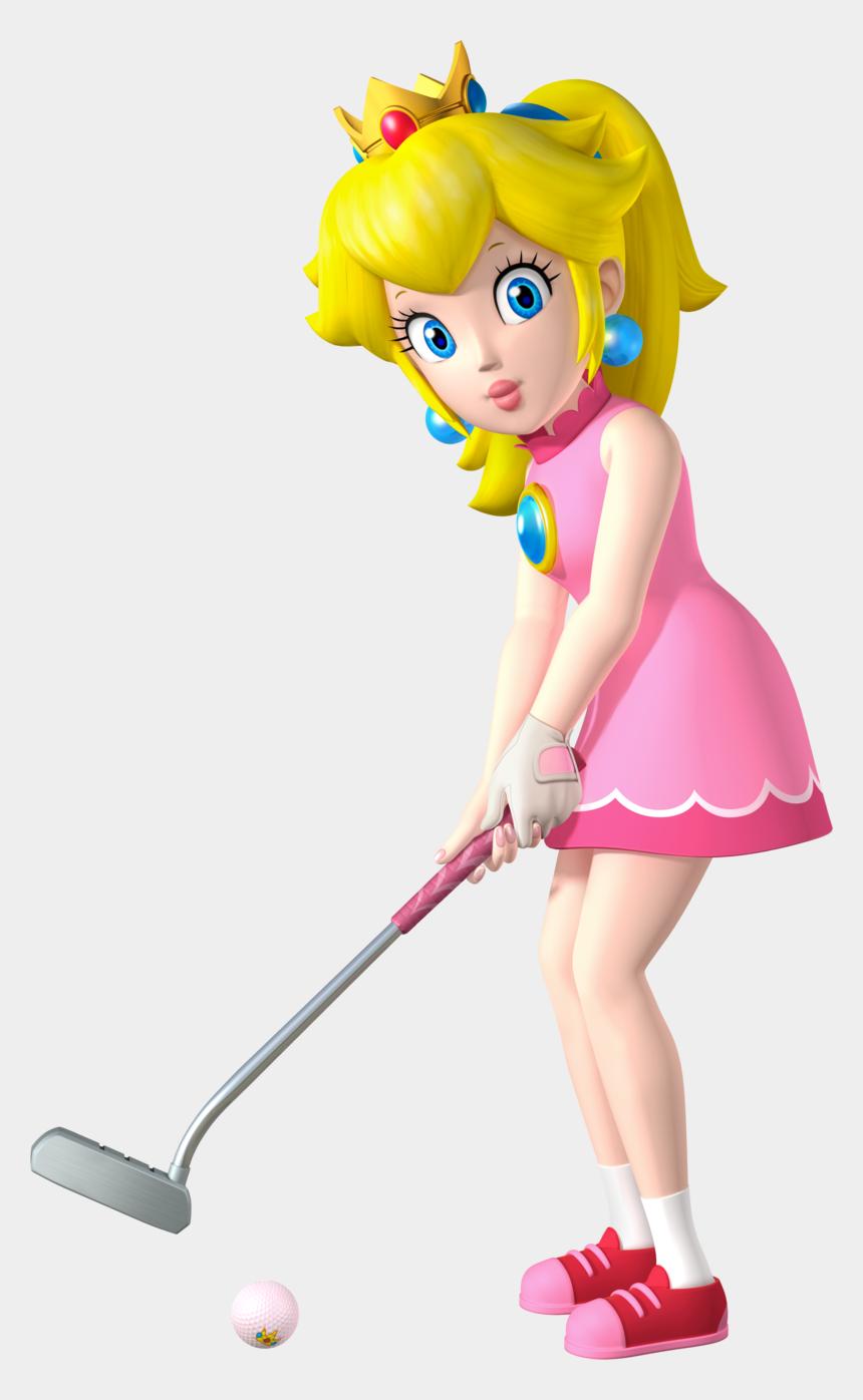 princess peach clipart, Cartoons - Princess Peach Png Transparent Image - Princess Peach Mario Golf