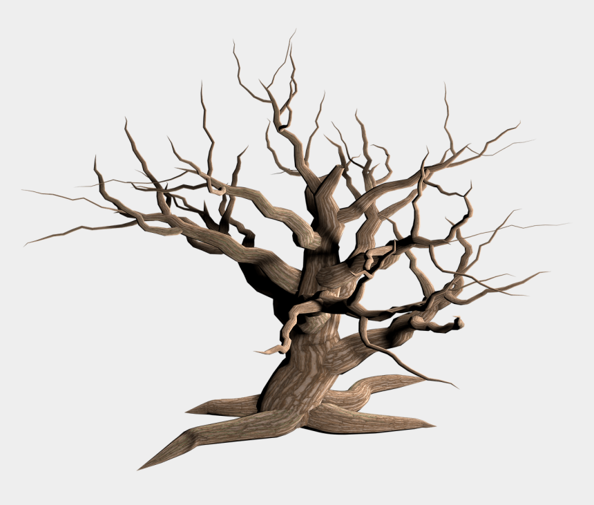 dead trees clipart, Cartoons - Tree Dead Branches - Transparent Background Dead Tree