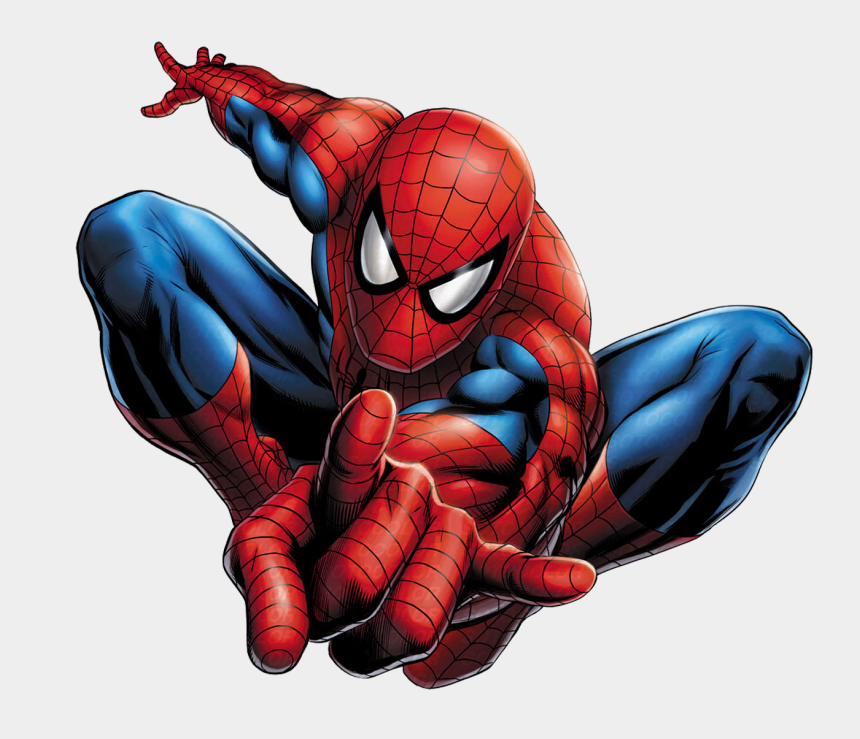 spider web background clipart, Cartoons - Hombre Araña Png Hd