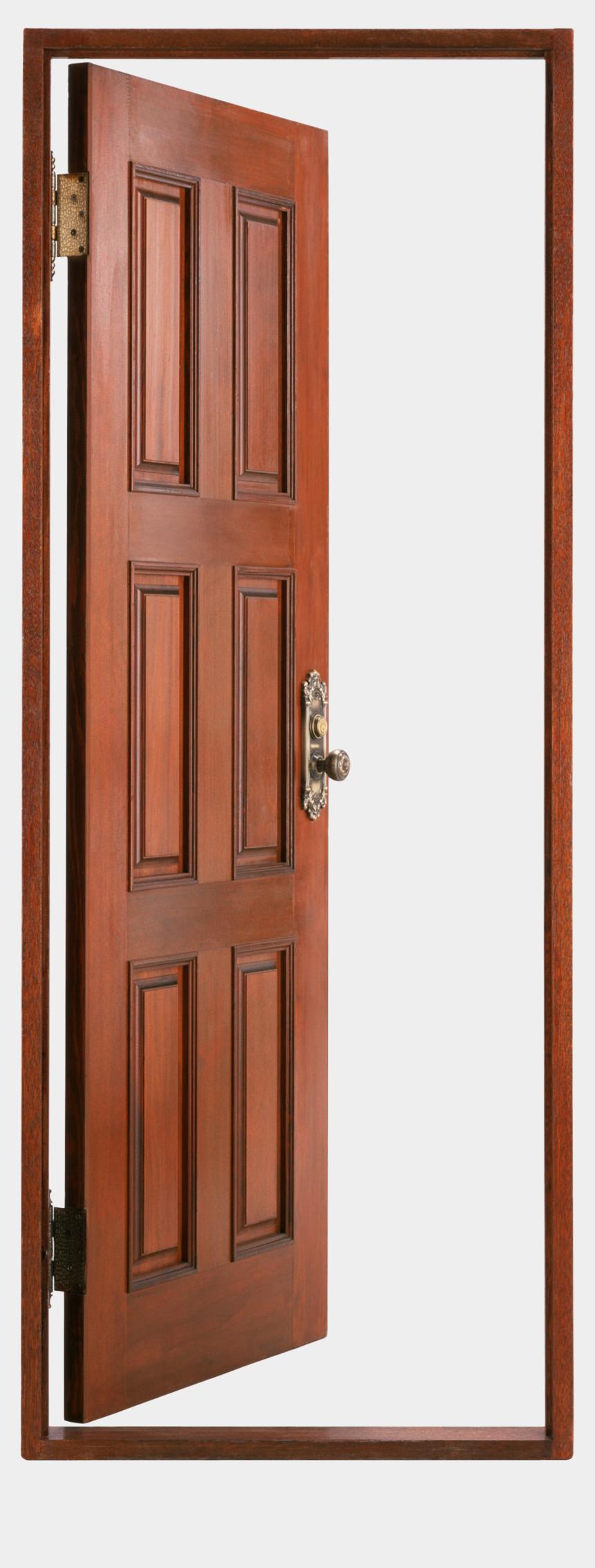 open doors clipart, Cartoons - Dark Open Door Png Png Images - Open Wood Door Png