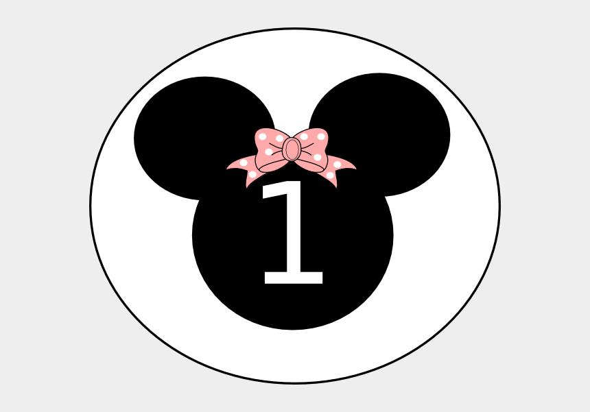 minnie bow clipart, Cartoons - Birthday Clip Art At Clker Com Vector Ⓒ - Minnie Mouse Head 1st Birthday