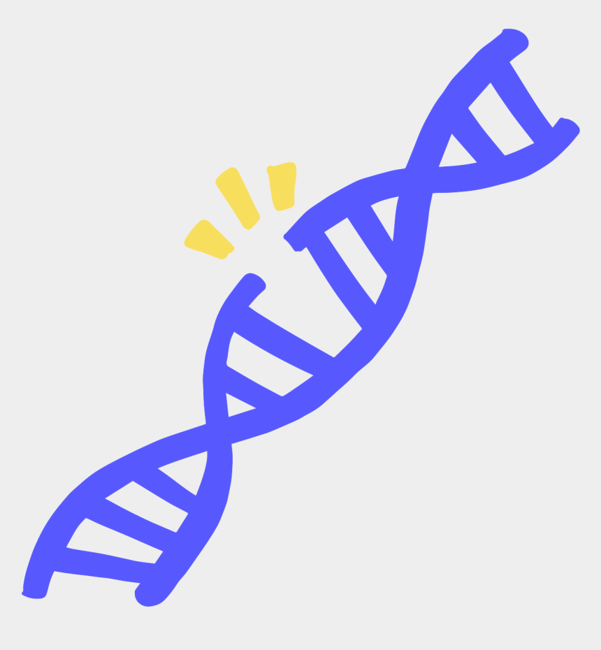 dna strand clipart, Cartoons - Image Of A Double Stranded Nick In A Blue Dna - Crispr Icon