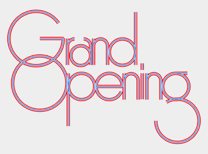 grand opening clipart, Cartoons - Grand Opening Sign Clipart - Pink Grand Opening Sign