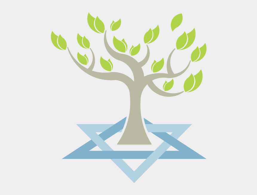 shabbat clipart, Cartoons - Congregation Beth Tikvah - Tree Of Life Jewish Star