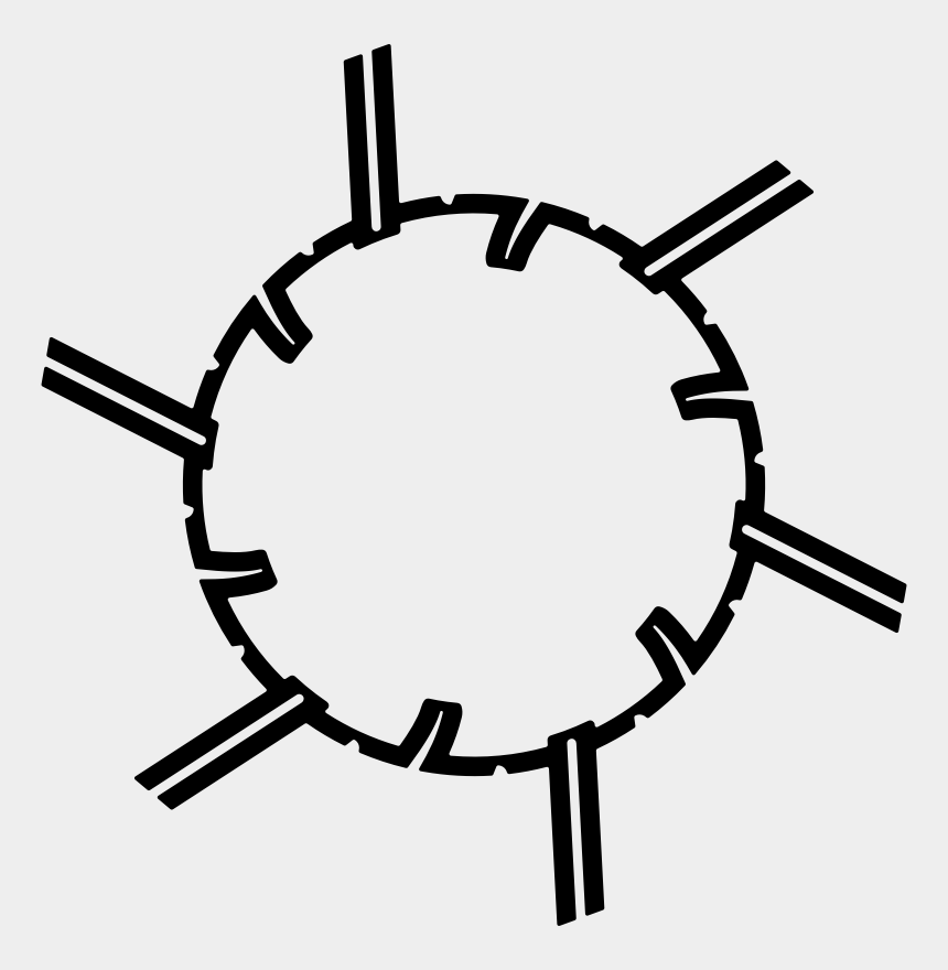 speeding clipart, Cartoons - Similar Clip Art - Spiked Circle