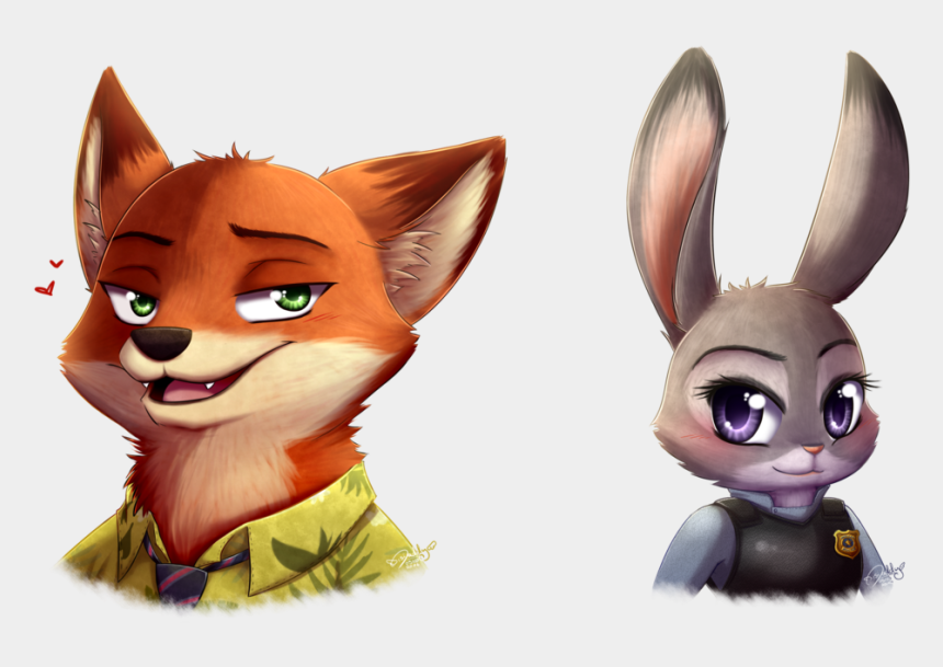 zootopia clipart, Cartoons - Nick And Judy - Daddy Zootopia