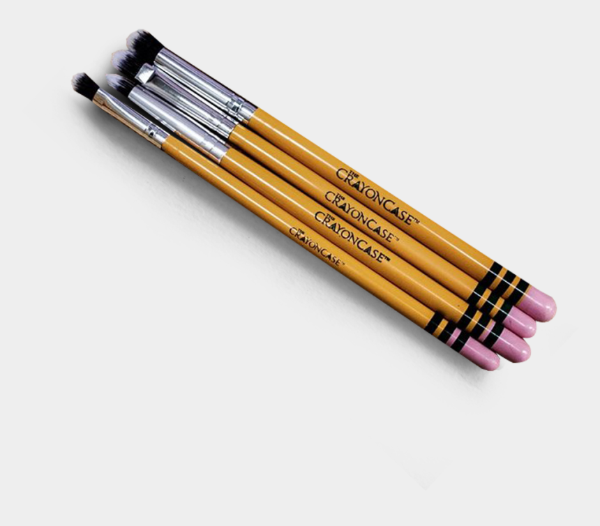 makeup brushes clipart, Cartoons - 7pc Ishadow Pencil Brush Set - Makeup Brushes That Look Like #2 Pencils
