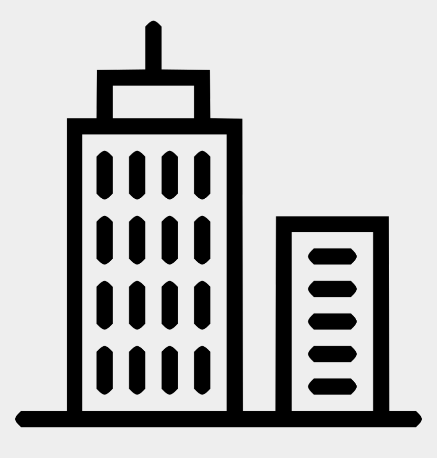 city building clipart, Cartoons - Business Building Icon Png - City Icon Free Png