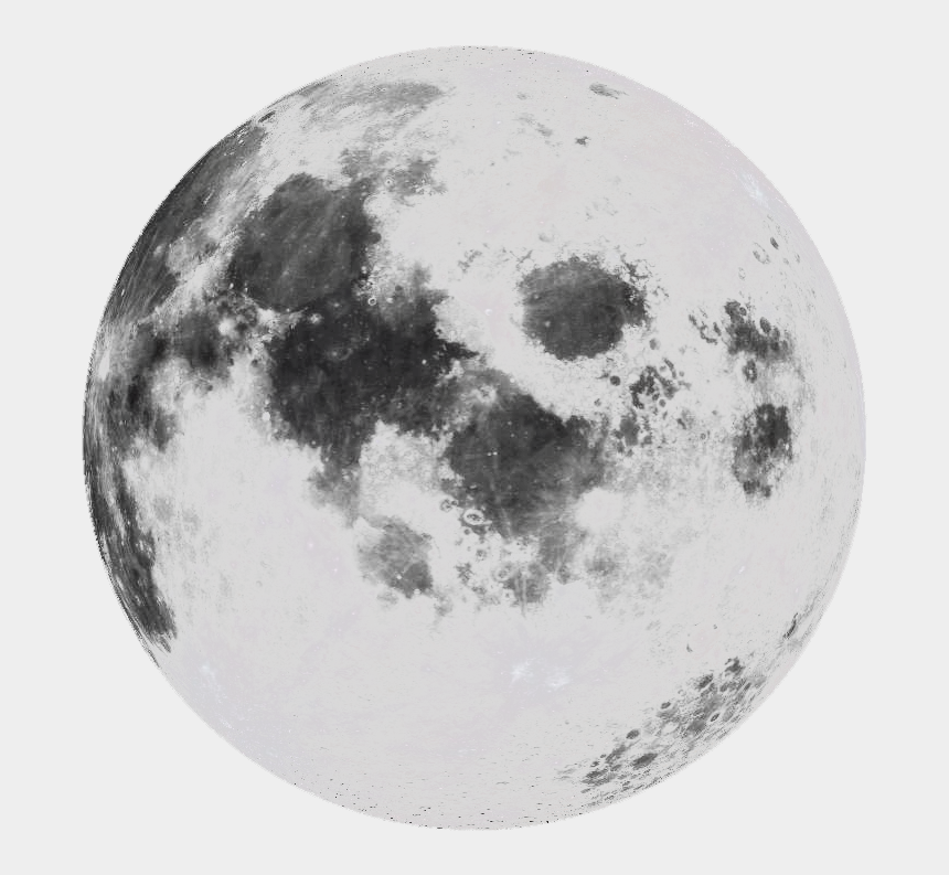 full moon clipart black and white, Cartoons - Moon Png Tumblr - Transparent Black And White Moon