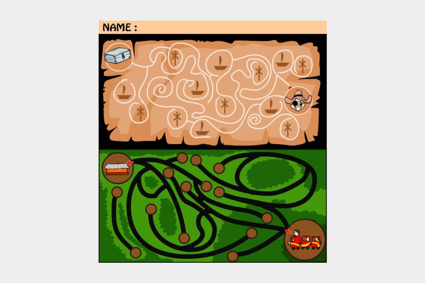 maze clipart, Cartoons - Maze Clipart Brain - Brain Teaser
