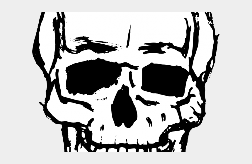 skeletal clipart, Cartoons - Skeleton Head Clipart - Skull Clipart Transparent Background
