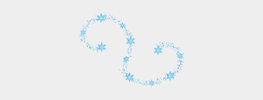 wind swirls clipart, Cartoons - #neon #swirl #wind #twister #circles #glitter #stars - Blue Glitter Swirl Png