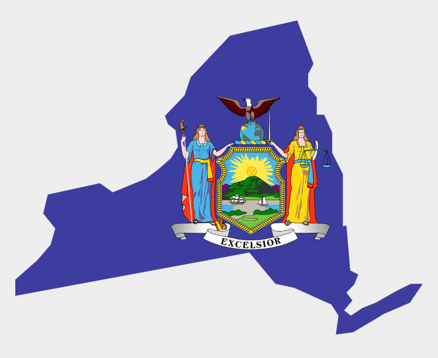 new york state clipart, Cartoons - Lac Commends Governor And Legislature On Passage Of - New York Flag Vector