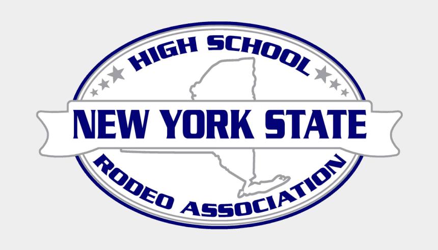 new york state clipart, Cartoons - New York State High School Rodeo Association - Emblem