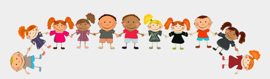 Children Holding Hands Top Border - Happy Kids, Cliparts ... (860 x 254 Pixel)