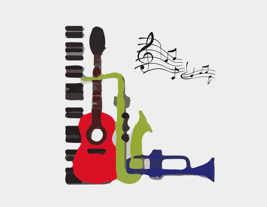 jazz band clipart, Cartoons - Wednesday October Jam Carnahan - Monday Jazz