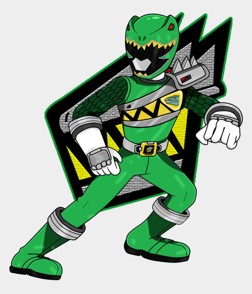 "power ranger clipart, Cartoons - Souji Rippukan ""the Slashing Brave, Kyoryu Green "" - Power Rangers Dino Charge Png"