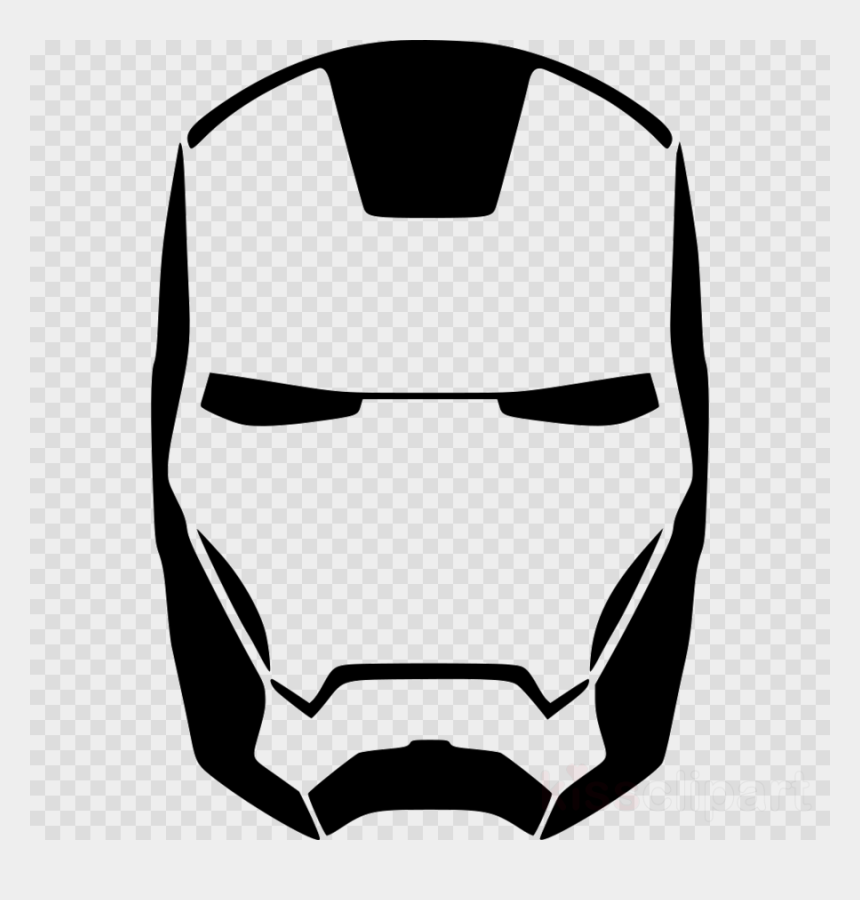 iron man logo clipart, Cartoons - Iron Man Silhouette Clipart Iron Man Stencil Hulk , - Transparent Captain America Mask Png