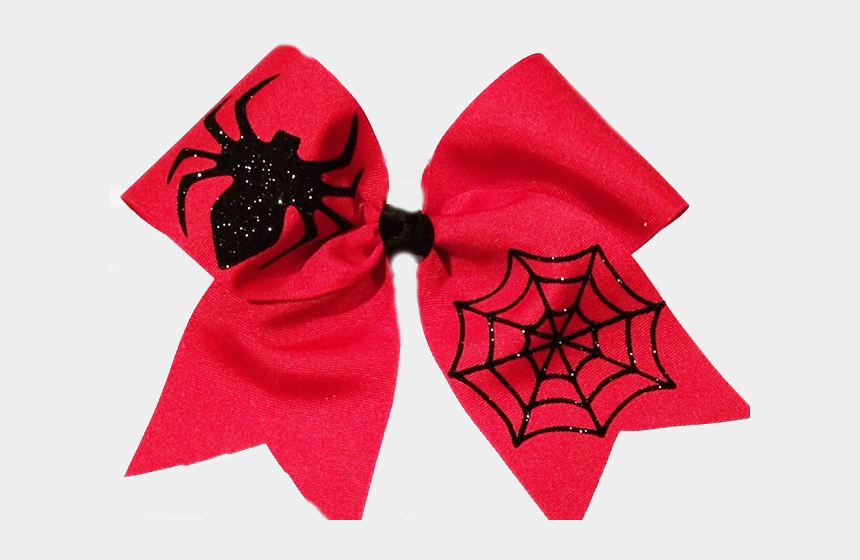 hair bow clipart, Cartoons - Spider Cheer Bow - Spider Man Cheer Bow