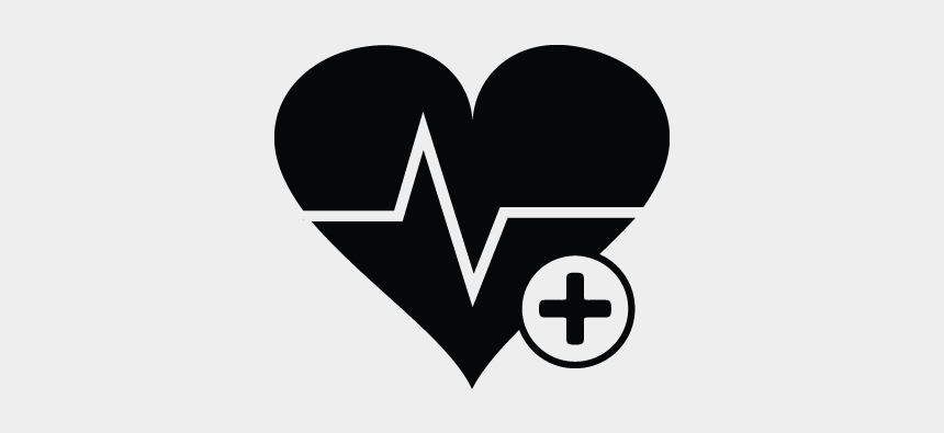 heartbeat clipart black and white, Cartoons - Heartbeat, Heart Rate, Cardiogram, Pulse Icon - Heart