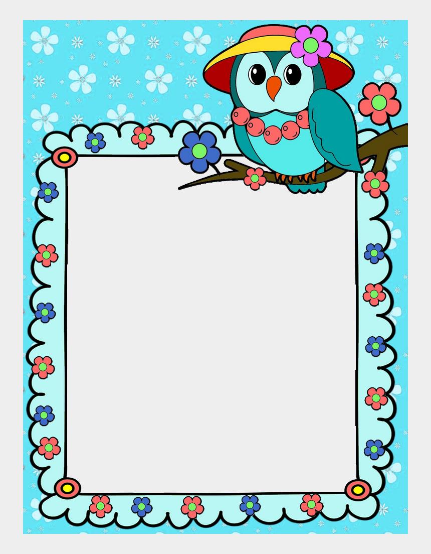 Cute Page Border Clipart